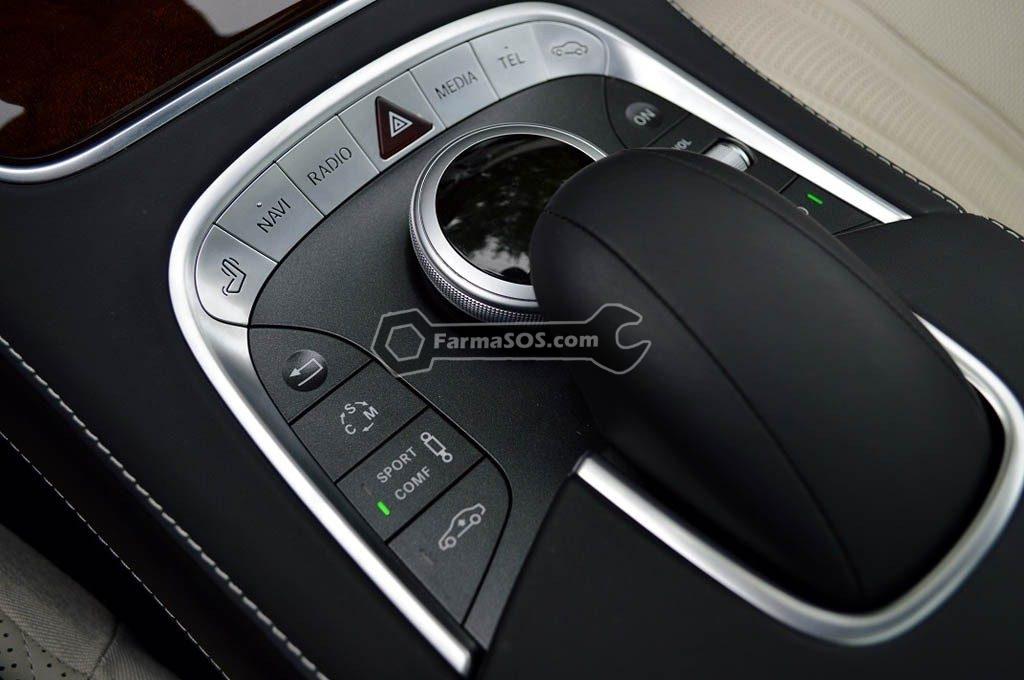 S63 AMG telephone keypad 1024x680 مشخصات  جالب مرسدس بنز S63